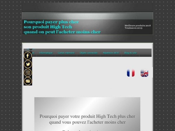 hightechamoindreprix.com